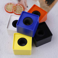 ABS Square cube shaped interview KTV mic microphone logo flag station SUNMUS