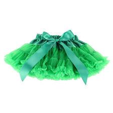 Girls Kids Dress Fluffy Tutu Skirt Princess Party Petticoat Ballet Pettiskirt AA