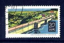 GERMANY - GERMANIA - DDR - 1968 - Dighe costruite dopo il 1945. E2013