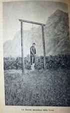 Bauman Illemoc Jelinek: Fucilazioni e Impiccagioni 1934 Marangoni 1a ed. illustr
