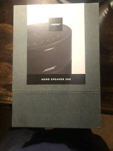 NEW Bose Home Speaker 300 powered multi-room audio speaker (black)