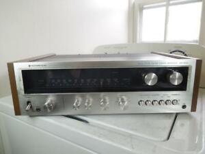 Vintage Kenwood AM-FM Stereo Tuner Amplifier Receiver Model KR-5400