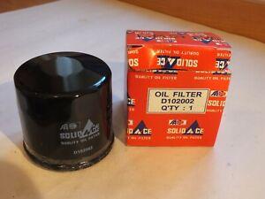 New Solid Ace Oil filter Suzuki Splash 1.0 1.3 Swift 1.0 1.2 Baleno D102002 F13