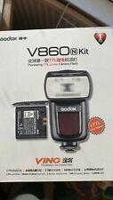 Godox V860N I-TTL Li-ion Wireless Flash Speedlite Nikon better SB-6000 SB-700