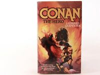 GOOD! Conan The Hero by Leonard Carpenter. Signed by Author. 1st 1989 Paperback