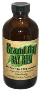 Dominica Grand Bay BAY RUM Aftershave, 8 oz.