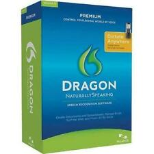 Nuance Dragon NaturallySpeaking Premium 11 11.5 K609A-XC3-11.0 with recorder