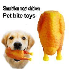 Giocattoli per cani Pollo arrostito al silicone di simulazione Denti resist G3D6