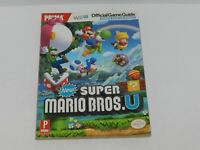 New Super Mario Bros U Pima Strategy Guide + Poster Nintendo Wii U