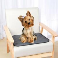 Pet Puppy Dog Training Absorbent Pad Reusable Machine Mat Toilet Washable O1F0