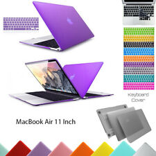 "Hard Plastic Case Shell + Keyboard Cover for MacBook Air 11"" Inch A1465 A1370"