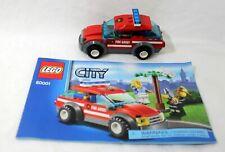 Lego Duplo 10917-mi primer coche de bomberos-bloques de creación jefe de bomberos auto