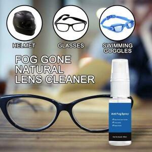 100ML Anti Fog Spray For Goggles Glasses Masks Scuba Hunting Gear 1X Car New