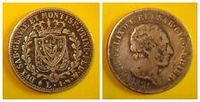 1826 1 LIRE SARDAIGNE, argent / 1 LIRE SARDINIA, argento. KM 121.1