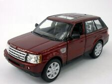 New Kinsmart Land Rover Range Rover Sport Diecast Model Toy SUV 1:38 Red