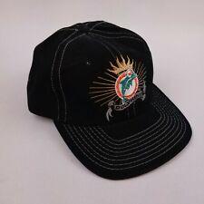 NFL Miami Dolphins American Needle Snapback Hat Cap - Black