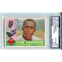 John Roseboro Autographed 1960 Topps Card