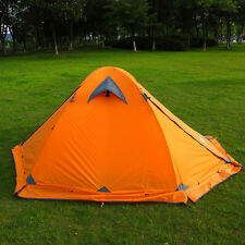 New Flytop Tent double layer 2 person 4season outdoor c&ing wind snow skirt Y & RAB Latok Mountain 2 Tent 2-person 4-season Signal Orange One Size ...