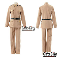 Hetalia: Axis Powers Southern Italy Romano Rovino Vargas Uniform Cosplay Costume