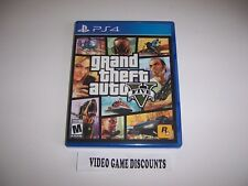 Original Box Case Replacement Sony PlayStation 4 PS4 GRAND THEFT AUTO V 5 FIVE