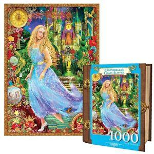 Masterpieces 1000 Piece Jigsaw Puzzle - Cinderella's Glass Slipper