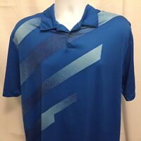 Nike Golf Dri Fit Tour Performance Mens Polo Shirt Sz Large Polyester