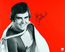1974-1975 Jackson Bostwick Shazam Signed Le 16x20 Color Photo (Jsa)
