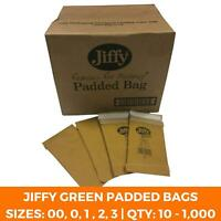 Jiffy Green Heavy Duty Padded Bags - Strong Mailing Eco Recyclable Envelopes