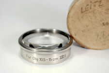 Leitz, Leica Condenser 10.5Cm -15Cm Projector Lenses Prado, Pravo Viii S