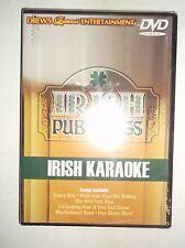 Drew's Famous - Irish Pub Songs: Irish Karaoke (DVD) BRAND NEW, Public Domain