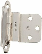 Amerock BPR341726 Non Self-Closing, Face Mount Hinge with 3/8in(10mm) 2 Pack