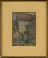 M.D. Masters - Early 20th Century Watercolour, Little Faringdon Water Mill