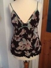 Gorgeous Ted Baker Strappy Silk Top