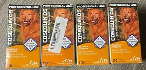 Cosequin DS Joint Health Supplement For Dogs! Sealed. 4 Boxes. 440 Chewable Tabs