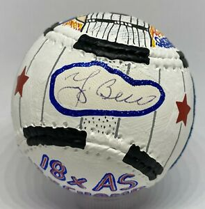 Yogi Berra 1/1 Signed CARTER X Custom Art Baseball MLB Hologram AUTO Yankees HOF