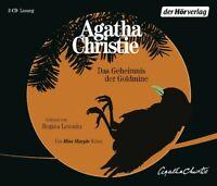 DAS GEHEIMNIS DER GOLDMINE - LEMNITZ,REGINA EIN MISS MARPLE KRIMI 3 CD NEW