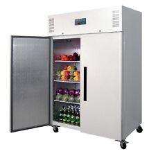 Polar Kühlschrank weiß 2-türig 1200L Gewerbe Gastronomie Kühlschrank Umluft
