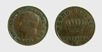 s607_1) Milano Napoleone I (1805-1814) Re d' Italia  - 1 Centesimo 1809 NC
