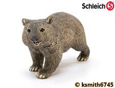 Schleich WOMBAT solid plastic wild zoo Australian ANIMAL * NEW 💥