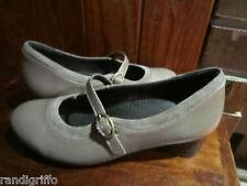 women's ZIERA by KUMFS comfort stylish wear mary jane leather shoes SZ 38.5 W