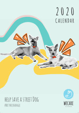 WECare Worldwide 2020 charity wall calendar (to help Sri Lankan street dogs)