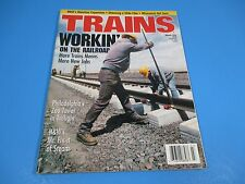 Trains, The Magazine of Railroading March 1999 More Trains Means More New Jobs
