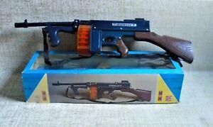 Commando Toy Gun # 280 B/O NIB KIBI BASILIADIS Plastic Made in Greece Greek VTG