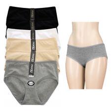 12 Women Underwear Briefs Panties Bikini Full Coverage Cotton Spandex Small Lot