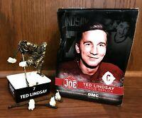Ted Lindsay Statue Replica NHL Detroit Red Wings Hockey Souvenir SGA New NIB