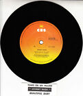 "JOHNNY NASH Tears On My Pillow 7"" 45 rpm vinyl record + juke box title strip"