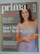 Prima Magazine January 2001. Detox without the headache. Natural cures arthritis