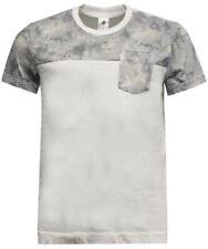 T-shirts gris adidas pour homme