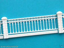 M06- Scale Model Trains Layout Set Fence 1 Meter OO HO