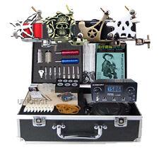 Premium Apprentice Tattoo Kit 4 machine heavy quality Power Supply complete set